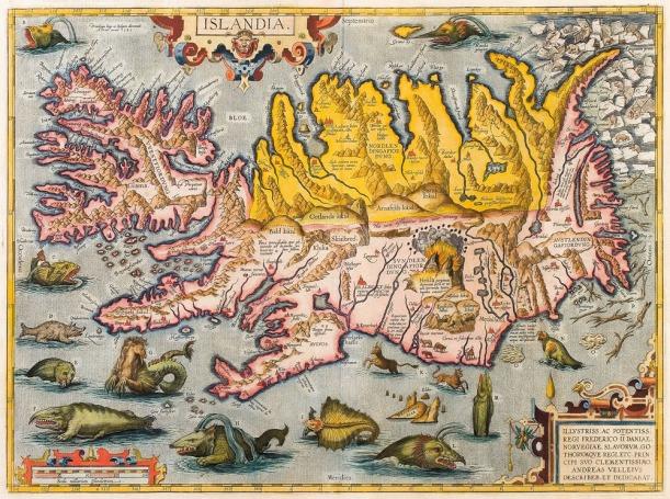 Map; Islandia
