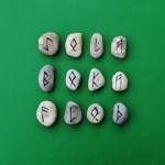 Runes; green lowres